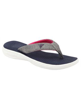 Shop Solethreads Sally - Navy Flip Flops For Women-Front
