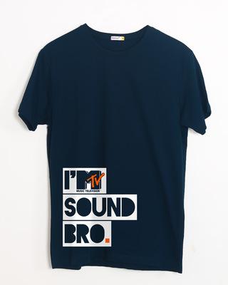Shop Sound Bro Half Sleeve T-Shirt (MTL)-Front