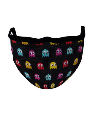 Shop Soxytoes Mask- Pacman Cotton Knitted Mask-Front