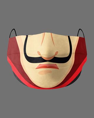 Shop Soxytoes Money Heist Cotton Face Mask-Front