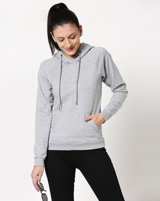 Shop Space Grey Hoodie Sweatshirt-Front