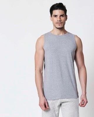 Shop Space Grey Men's Vest-Front