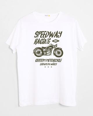 Buy Speedway On Wheels Half Sleeve T-Shirt Online India @ Bewakoof.com