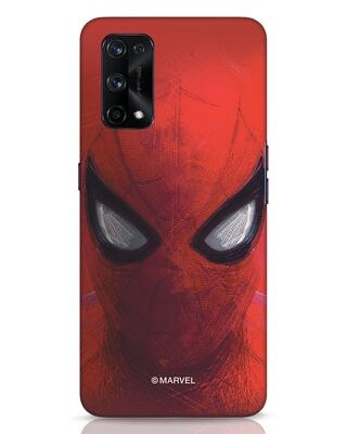 Shop Spiderman Red Realme X7 Pro Mobile Cover (AVL)-Front