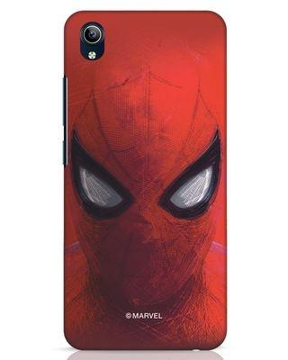 Shop Spiderman Red Vivo Y91i Mobile Cover (AVL)-Front