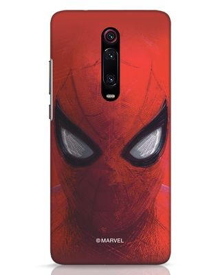 Shop Spiderman Red Xiaomi Redmi K20 Mobile Cover (AVL)-Front
