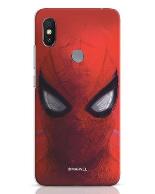 Shop Spiderman Red Xiaomi Redmi Y2 Mobile Cover (AVL)-Front