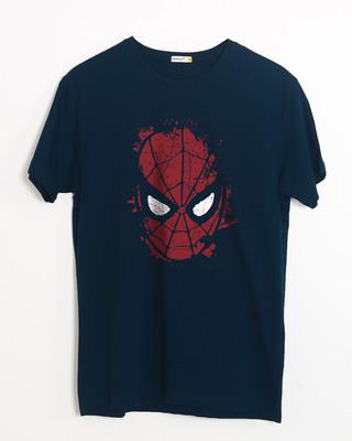 Buy Spiderman Splatter Half Sleeve T-Shirt (SPL) Online India @ Bewakoof.com