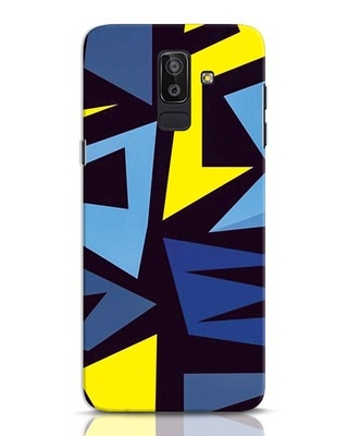 Shop Sporty Abstract Samsung Galaxy J8 Mobile Cover-Front