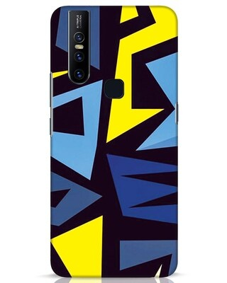 Shop Sporty Abstract Vivo V15 Mobile Cover-Front