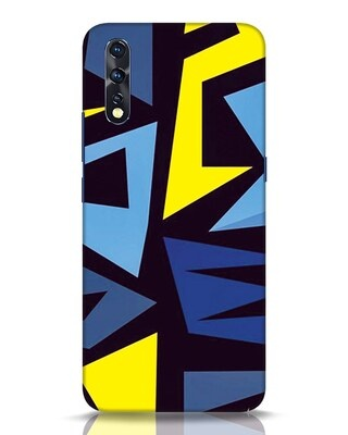 Shop Sporty Abstract Vivo Z1x Mobile Cover-Front