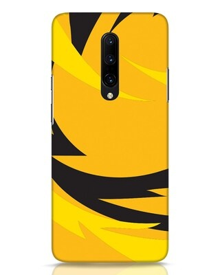 Shop Sporty Yellow OnePlus 7 Pro Mobile Cover-Front