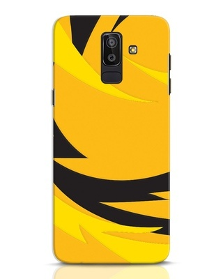 Shop Sporty Yellow Samsung Galaxy J8 Mobile Cover-Front