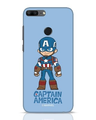 Shop Star Captain America Huawei Honor 9 Lite Mobile Cover-Front