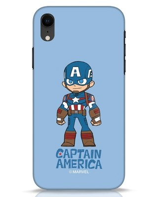 Shop Star Captain America iPhone XR Mobile Cover-Front