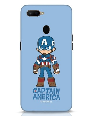 Shop Star Captain America Oppo A5s Mobile Cover-Front