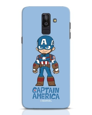 Shop Star Captain America Samsung Galaxy J8 Mobile Cover-Front