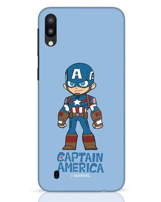 Shop Star Captain America Samsung Galaxy M10 Mobile Cover-Front