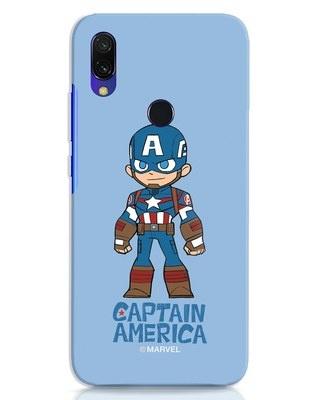 Shop Star Captain America Xiaomi Redmi 7 Mobile Cover-Front