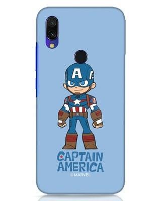 Shop Star Captain America Xiaomi Redmi Y3 Mobile Cover-Front