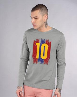 Shop Star Striker Full Sleeve T-Shirt-Front