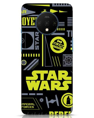 Shop Star Wars Pattern Rebel OnePlus 7T Mobile Cover-Front