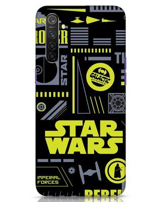 Shop Star Wars Pattern Rebel Realme 6 Mobile Cover-Front