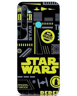 Shop Star Wars Pattern Rebel Realme Narzo 10 Mobile Cover-Front