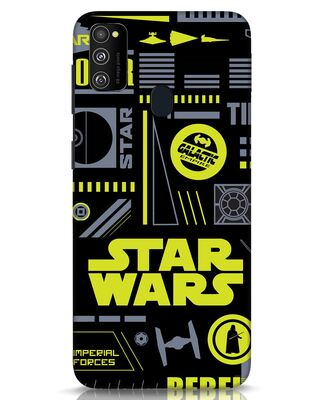 Shop Star Wars Pattern Rebel Samsung Galaxy M30s Mobile Cover-Front
