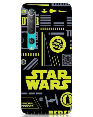 Shop Star Wars Pattern Rebel Xiaomi Mi 10 Mobile Cover-Front