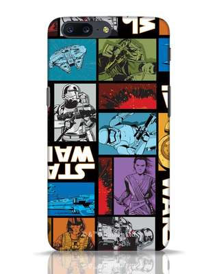 Shop Star Wars Retro OnePlus 5 Mobile Cover (SWL)-Front