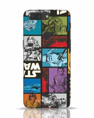 Shop Star Wars Retro OnePlus 5T Mobile Cover (SWL)-Front