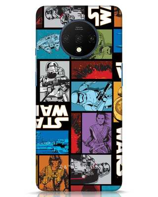Shop Star Wars Retro OnePlus 7T Mobile Cover (SWL)-Front