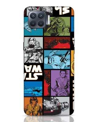 Shop Star Wars Retro Oppo F17 Pro Mobile Cover (SWL)-Front