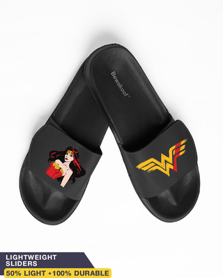 Shop Stare Of Wonder Velcro Sliders-Front