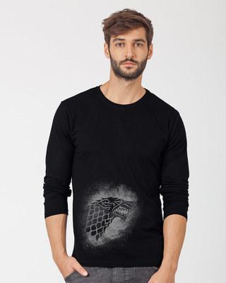 Shop Stark Grunge Full Sleeve T-Shirt (GTL)-Front