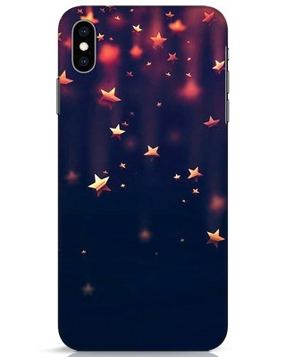 Shop Starry iPhone XS Max Mobile Cover-Front
