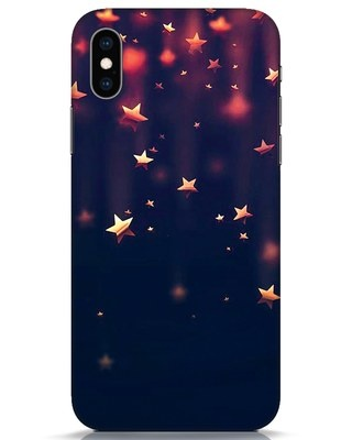 Shop Starry iPhone XS Mobile Cover-Front