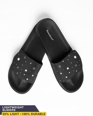 Shop Starry Spaces Lightweight Adjustable Strap Womens Slider-Front