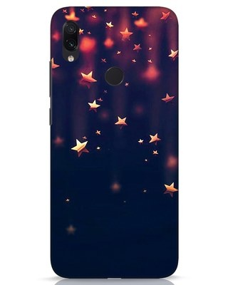 Shop Starry Xiaomi Redmi Note 7s Mobile Cover-Front