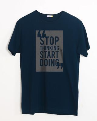 Buy Start Doing Half Sleeve T-Shirt Online India @ Bewakoof.com