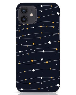 Shop Stary iPhone 12 Mobile Cover-Front