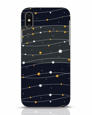 Shop Stary iPhone X Mobile Cover-Front