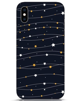 Shop Stary iPhone XS Mobile Cover-Front