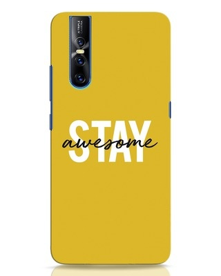 Shop Stay Awesome Vivo V15 Pro Mobile Cover-Front