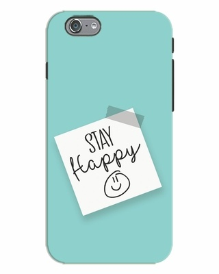 Shop Stay Happy Smile iPhone 6s Mobile Cover-Front