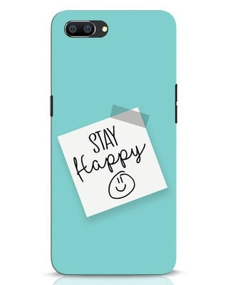 Shop Stay Happy Smile Realme C1 Mobile Cover-Front