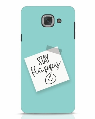 Shop Stay Happy Smile Samsung Galaxy J7 Max Mobile Cover-Front