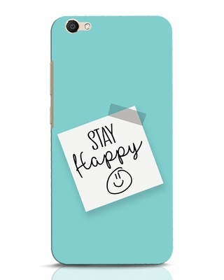 Shop Stay Happy Smile Vivo V5 Mobile Cover-Front