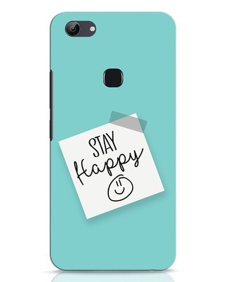 Shop Stay Happy Smile Vivo Y83 Mobile Cover-Front